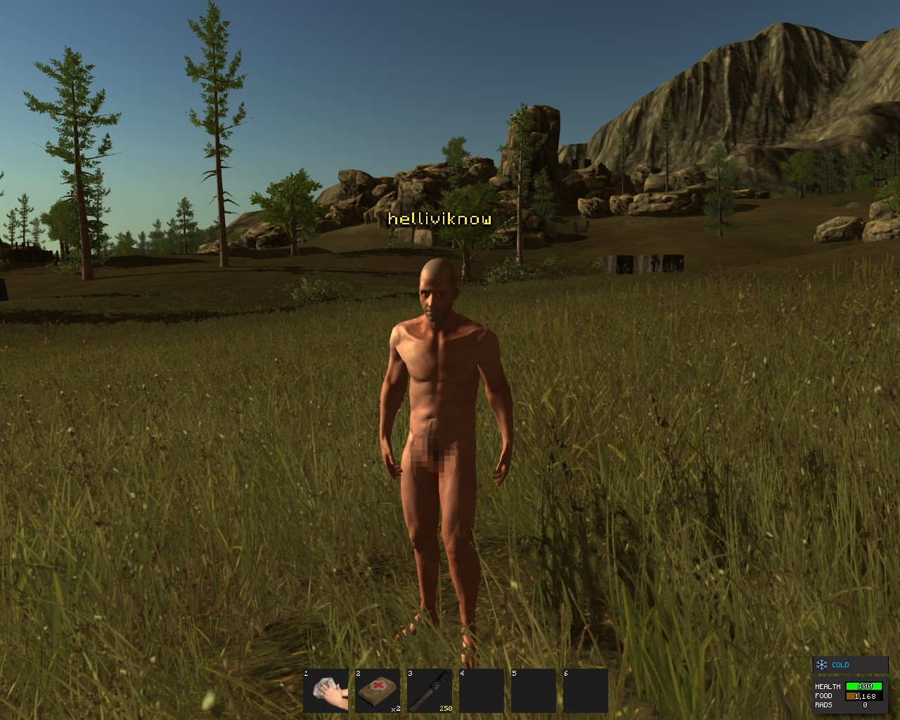 rust nudity