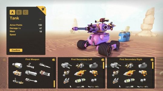 The minigun's connected to the weapon chasis, the weapon chasis's connected to the tank hull...