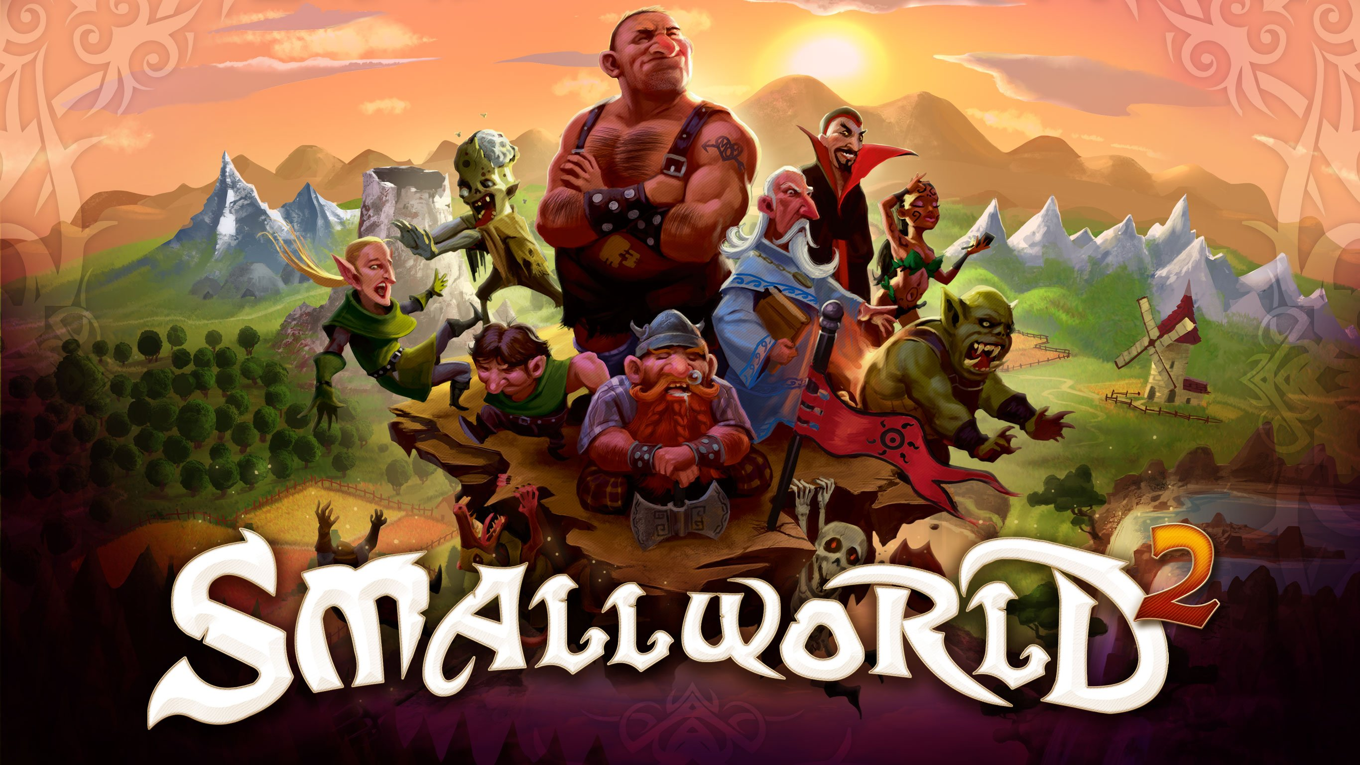 Smallworld better than pit fighting midgets the for Smallworld juego de mesa